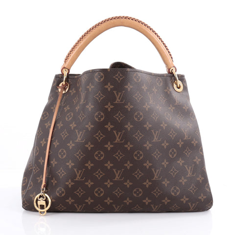 f133bd8c0d1d Buy Louis Vuitton Artsy Handbag Monogram Canvas MM Brown 2108203 – Rebag