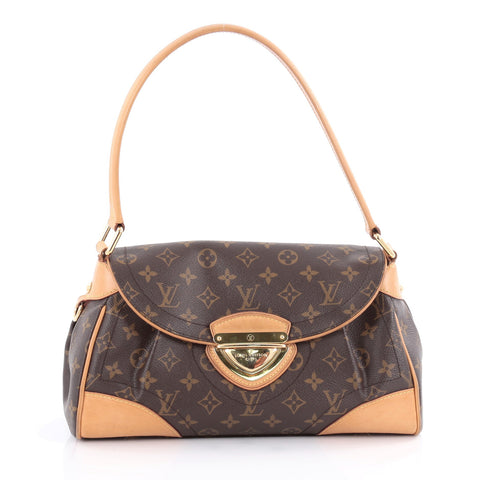 986560880ae3 Buy Louis Vuitton Beverly Handbag Monogram Canvas MM Brown 2112502 – Rebag