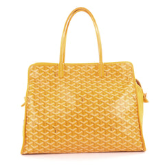 Goyard Hardy Pet Carrier Coated Canvas PM Yellow 2121705