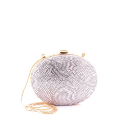 Judith Leiber Minaudiere Crystal Small Pink 2123101