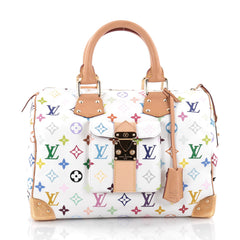 Louis Vuitton Speedy Handbag Monogram Multicolor 30 2148301