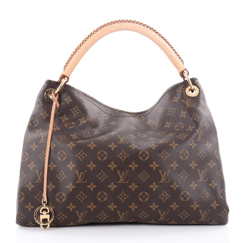 8981c1f65c67 Buy Louis Vuitton Artsy Handbag Monogram Canvas MM Brown 2150501 – Rebag