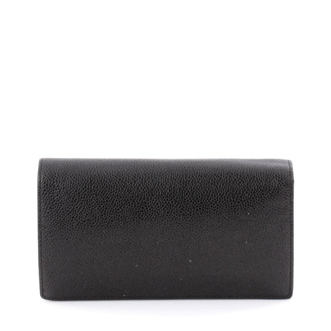 24b4bc1d44d6 Buy Chanel Timeless L-Yen Wallet Caviar Long Black 2155801 – Rebag