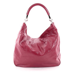 Saint Laurent Roady Hobo Patent Large Pink 2156703