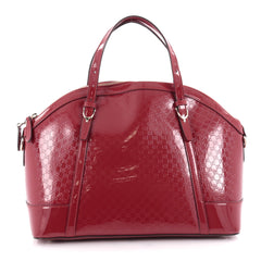 Gucci Nice Top Handle Bag Patent Microguccissima Leather 2156902
