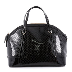 Gucci Nice Top Handle Bag Patent Microguccissima Leather 2156906
