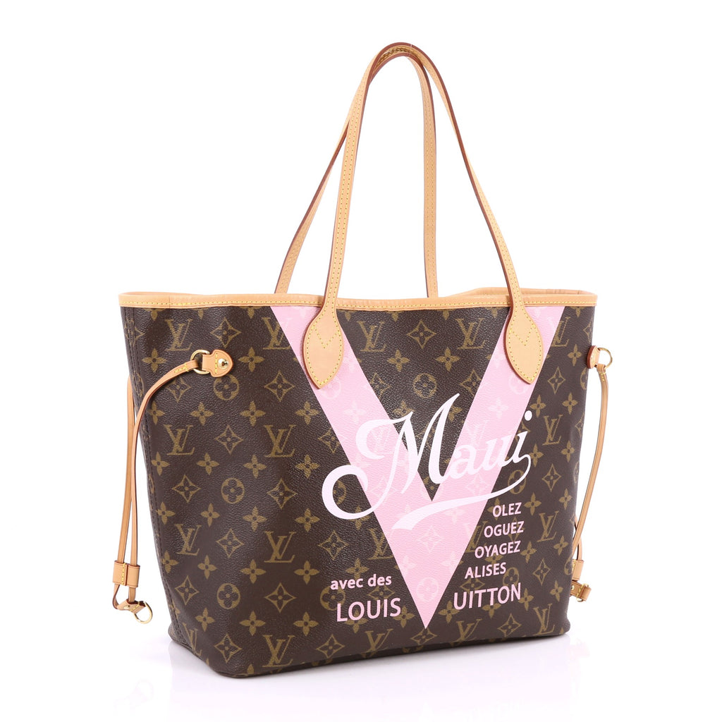 7b02f7e6c5a5 Buy Louis Vuitton Neverfull NM Tote Limited Edition Cities V 2178501 ...