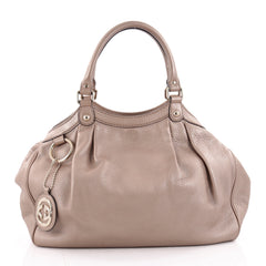 Gucci Sukey Tote Leather Medium Pink 2182905