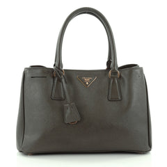Prada Gardener's Tote Saffiano Leather Medium Green 2183003