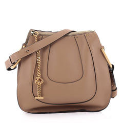 Chloe Hayley Hobo Leather Small Brown 2186601