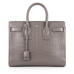Sac de Jour NM Crocodile Embossed Leather Small