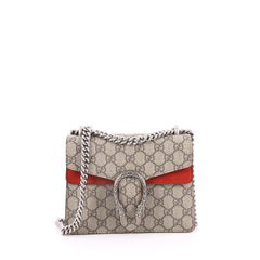 Gucci Dionysus Handbag GG Coated Canvas Mini Brown 2211501