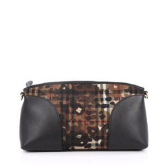 Burberry Chichester Crossbody Bag Printed Horseferry Canvas Small Brown 2220702