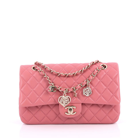 6a8569f59b65dd Buy Chanel Valentine Crystal Hearts Flap Bag Quilted 2225702 – Rebag