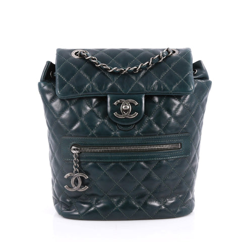 a57302436f44 Buy Chanel Mountain Backpack Quilted Glazed Calfskin Small 2226501 – Rebag