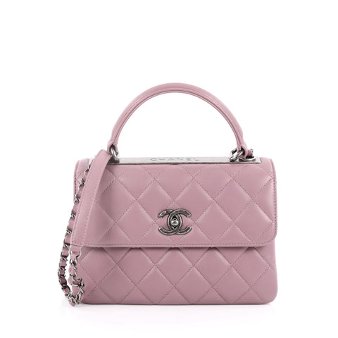 c856097ce5dee7 Buy Chanel Trendy CC Top Handle Bag Quilted Lambskin Small 2226701 – Rebag