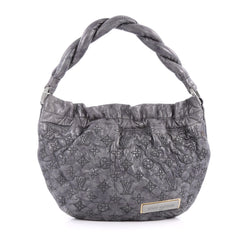 Louis Vuitton Olympe Nimbus Handbag Limited Edition Monogram Lambskin PM Gray