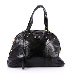 Saint Laurent Muse Shoulder Bag Patent Large Black 2228503