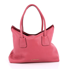 Burberry Baynard Tote Grainy Leather Pink 2236101