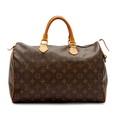 Louis Vuitton Speedy Monogram Canvas 35