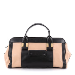 Chloe Alice Satchel Leather Medium Black