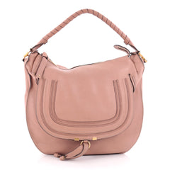 Chloe Marcie Hobo Leather Large Pink 2256501