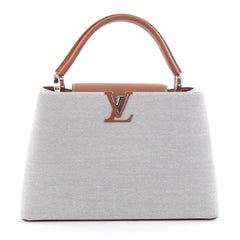 Louis Vuitton Capucines Handbag Canvas with Mateo 2257502