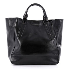 Burberry Somerford Tote Patent Large Black 2259803