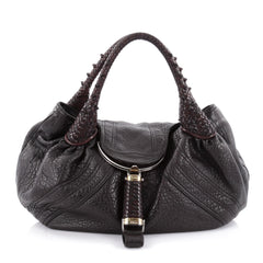 Fendi Spy Bag Leather Brown 2273602