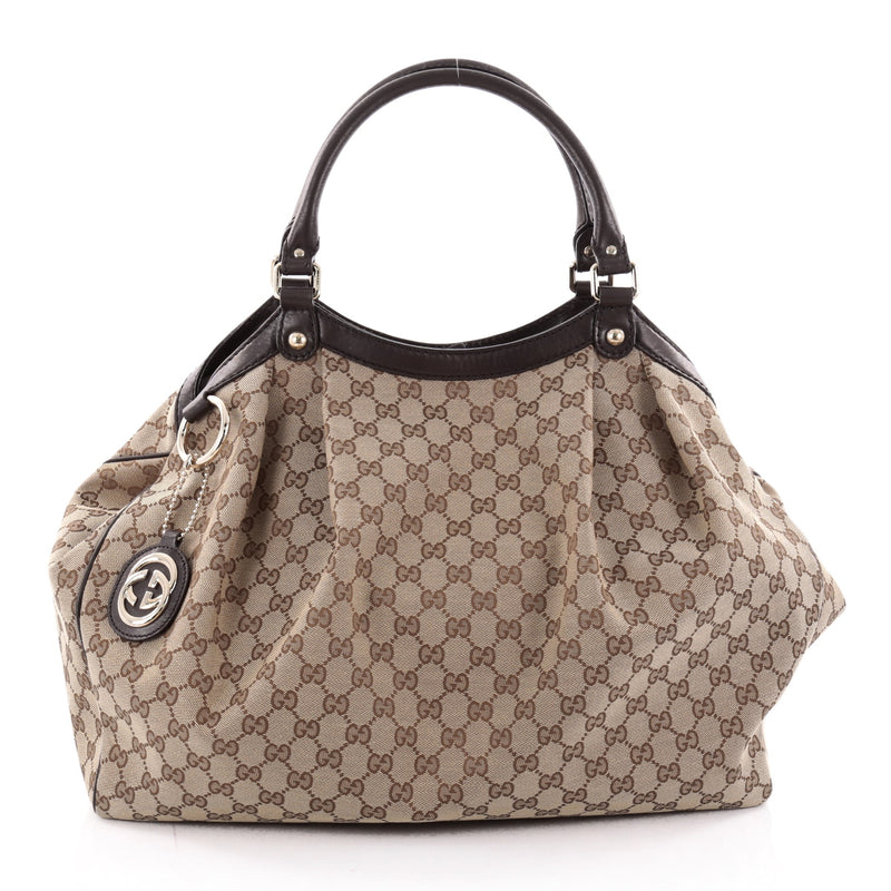 2e3ec3d7af5 Buy gucci sukey tote canvas large brown rebag jpg 800x800 Large gucci sukey  tote