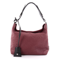 Louis Vuitton Antheia Hobo Leather PM Red 2285701