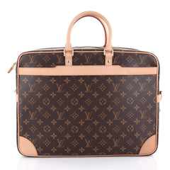 Louis Vuitton Porte-Documents Voyage Bag Monogram Canvas 2312306