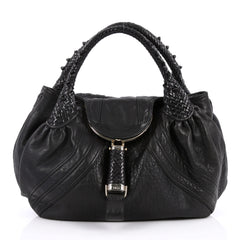 Fendi Spy Bag Leather Black 2316102