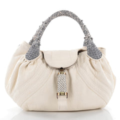 Fendi Spy Bag Leather White 2319301