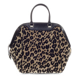 Louis Vuitton North South Bag Limited Edition Stephen Sprouse Leopard Chenille -