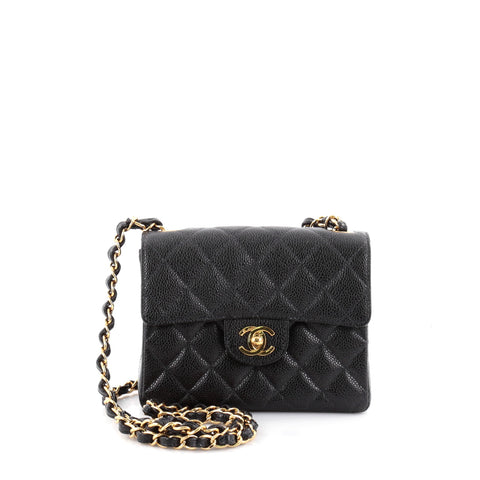 46ed7b6c06a5 Buy Chanel Vintage Square Classic Single Flap Bag Quilted 2335801 – Rebag