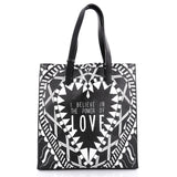Givenchy Power of Love Tote Printed Leather Large Black 2337301