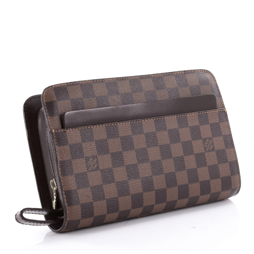 Buy Louis Vuitton Pochette Saint Louis Damier Brown