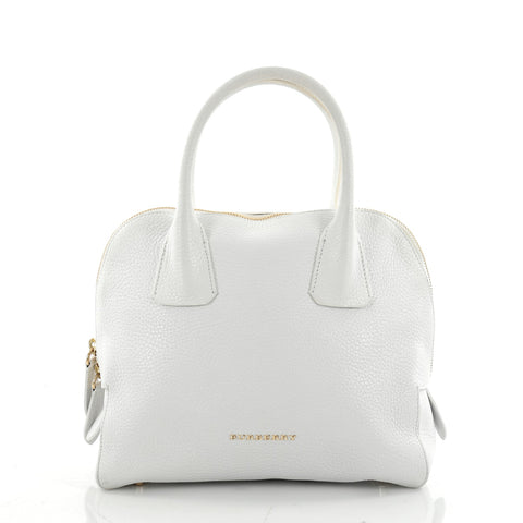 109445a564d4 Buy Burberry Greenwood Bowling Bag Grainy Leather Small 2341901 – Rebag