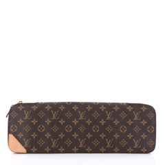Louis Vuitton 5 Tie Case Monogram Canvas Brown 2343101