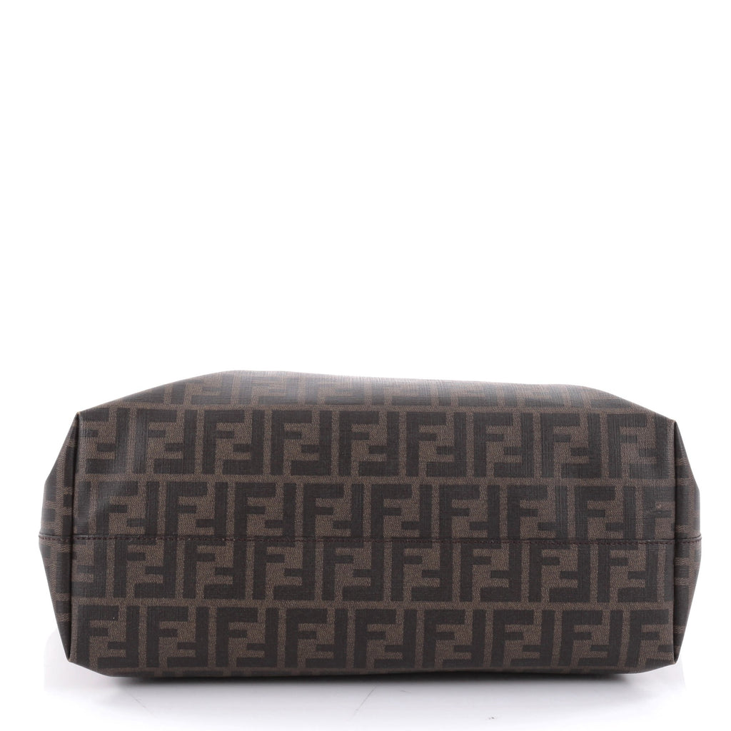 1c08b7511a Buy Fendi Roll Tote Zucca Coated Canvas Large Brown 2344201 – Rebag