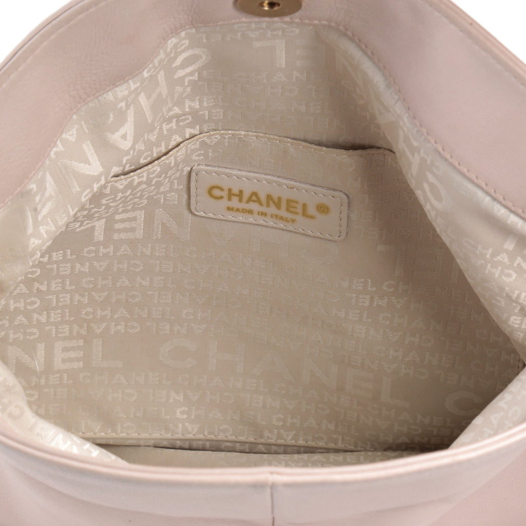 2155988c856757 Buy Chanel Cue Ball Foldover Bag Leather Medium Pink 2363701 – Rebag