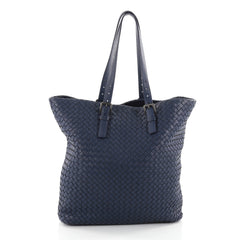 Bottega Veneta A-Shape Tote Intrecciato Nappa XL Purple 2365002