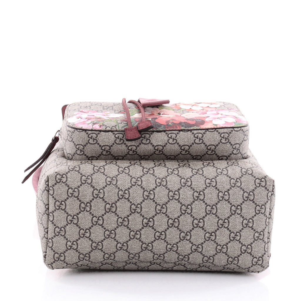 7bf373b473d1 Buy Gucci Buckle Backpack Blooms Print GG Coated Canvas 2378503 – Rebag