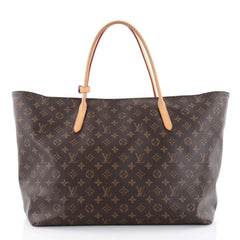 Louis Vuitton Raspail Tote Monogram Canvas GM Brown 2385401