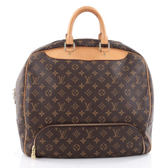 Louis Vuitton Evasion Travel Bag Monogram Canvas MM 2385402