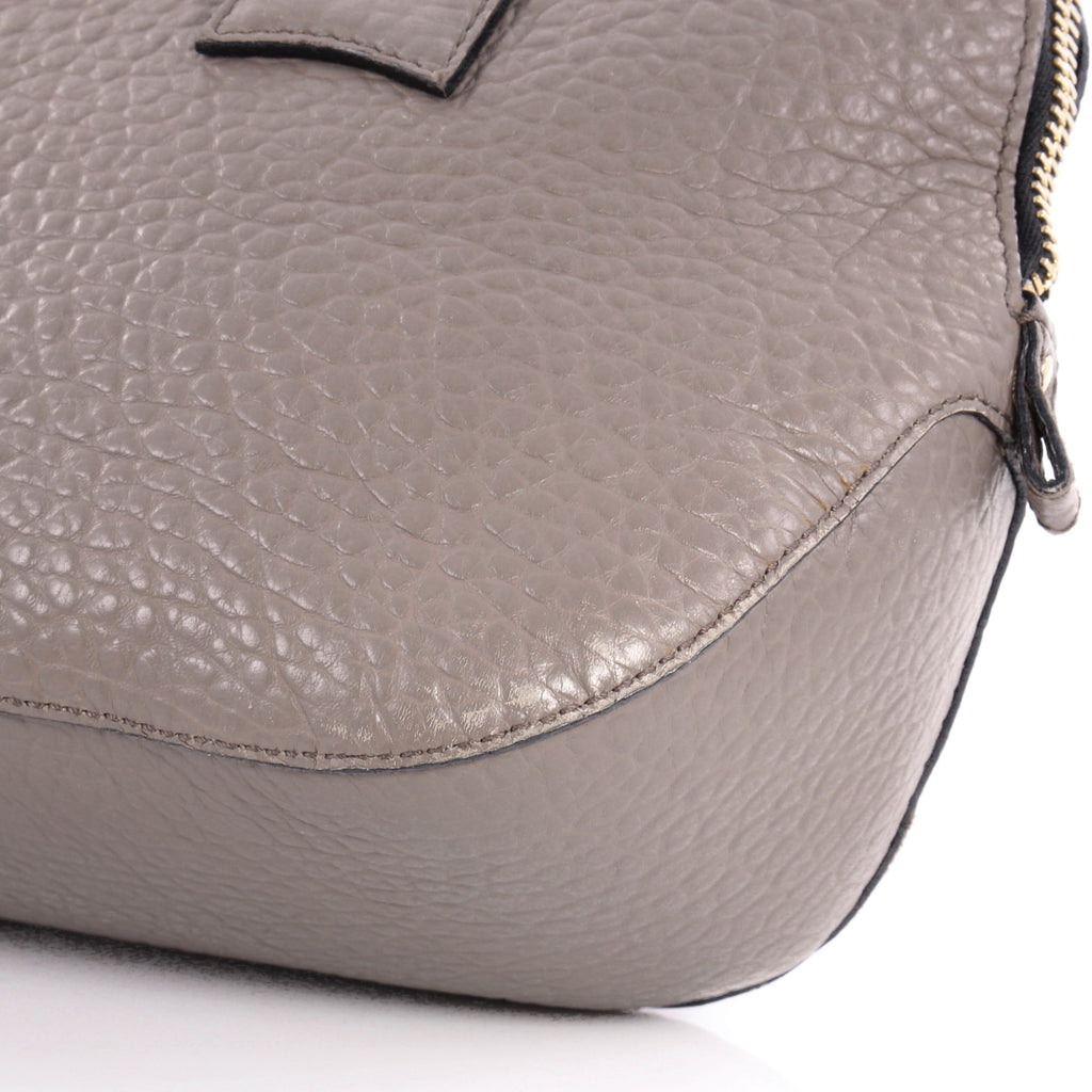 7066d4e747c8 Buy Burberry Orchard Bag Heritage Grained Leather Small Gray 2388701 ...