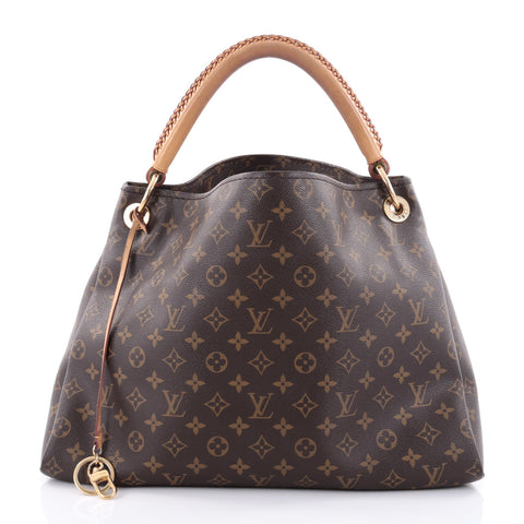 7c2beb911189 Buy Louis Vuitton Artsy Handbag Monogram Canvas MM Brown 2395101 – Rebag
