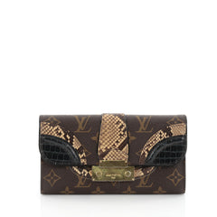 Louis Vuitton Monogramissime Wallet Monogram Canvas and 2408001