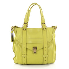 Proenza Schouler PS1 Convertible Tote Leather Yellow 2413901